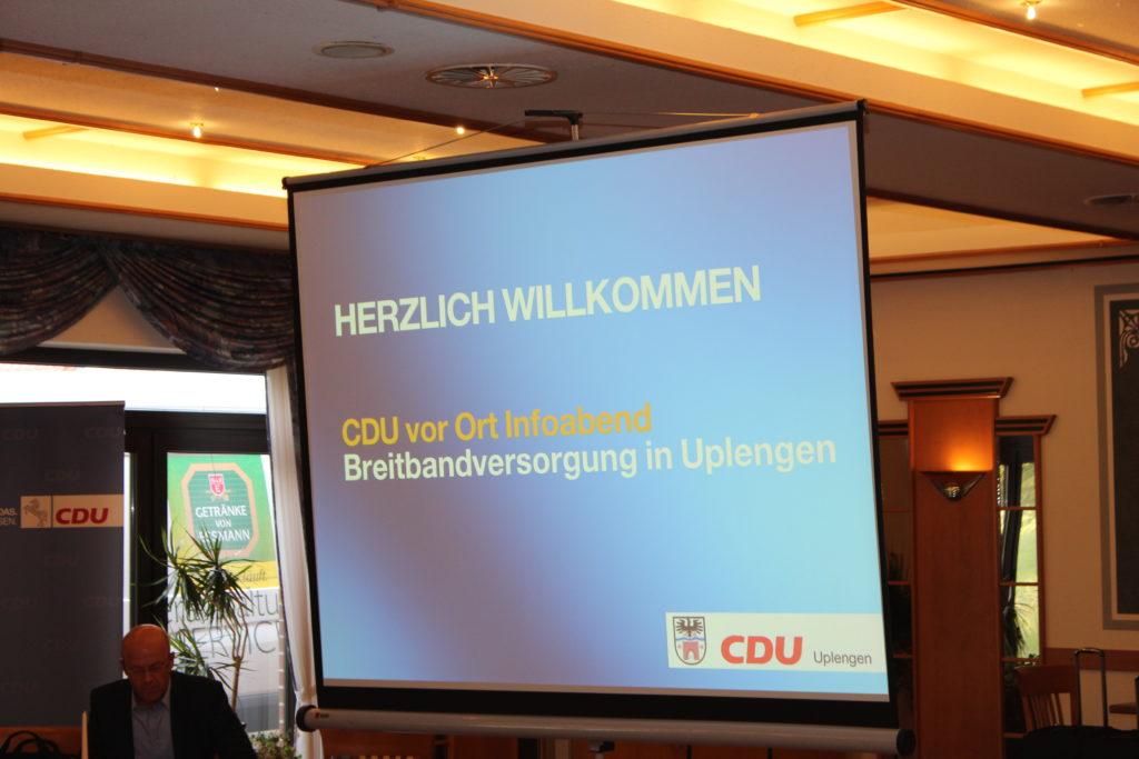 CDU vor Ort – Breitbandausbau in Uplengen