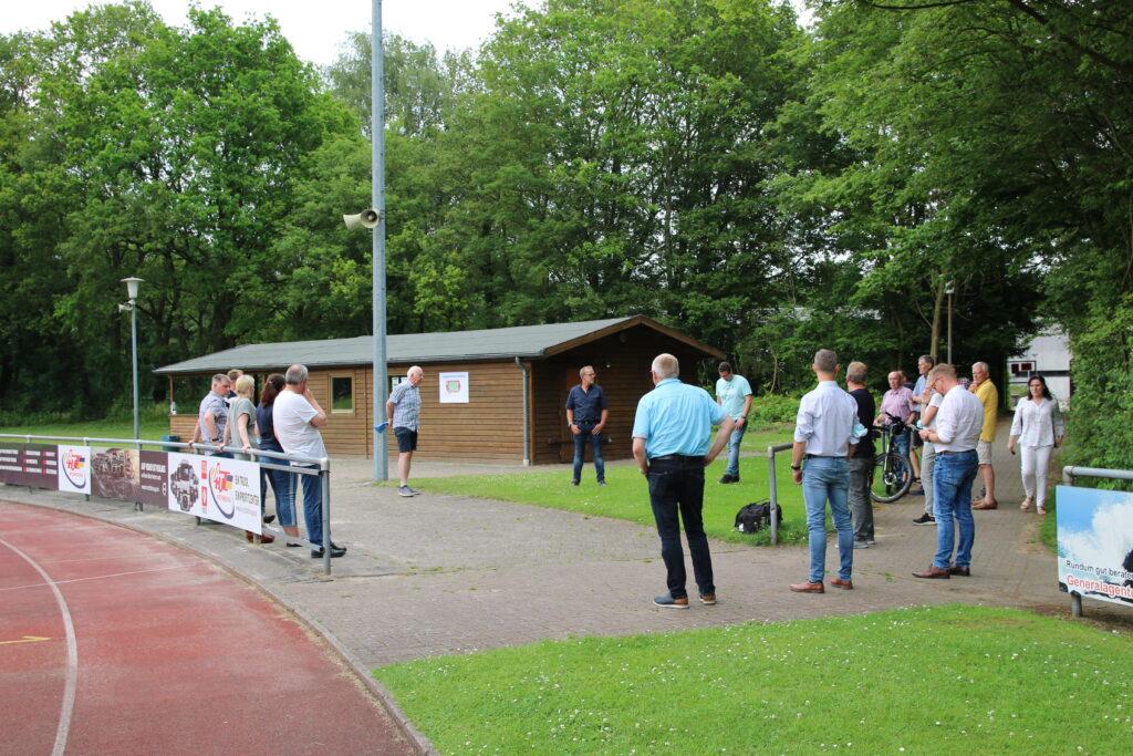 Modernisierung des Sportparks im Höst